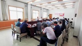 王瑞峰到渭南市创建办调研检查工作