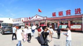 """渭南市""""促消费 惠民生 助脱贫"""" 媒体行媒体团来到澄城县龙首现代农业园区"""