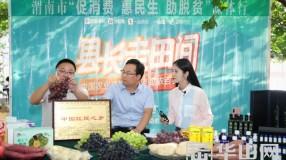 """渭南市""""促消费 惠民生 助脱贫""""媒体行活动走进合阳"""