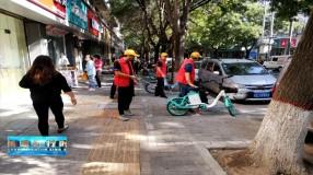 临渭区集中开展环境卫生整治活动