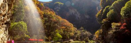 渭南:秋染少华山