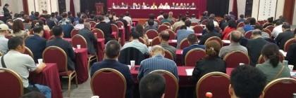 渭南市书法家协会第六次会员代表大会召开