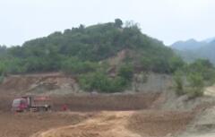 华州区积极推进秦岭北麓覆土复绿工作