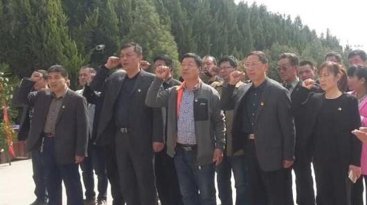 大荔县非公党工委开展清明爱国教育活动