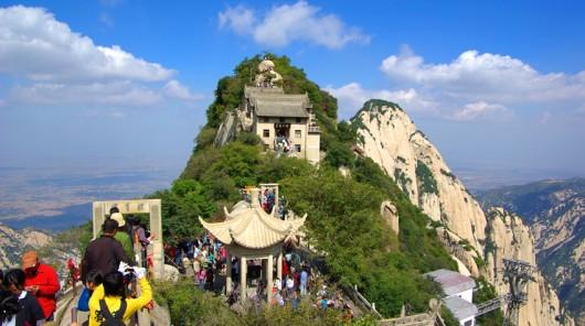 清明小长假 华山景区游客大幅增长