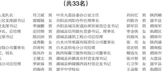渭南市第五届人民代表大会常务委员会 关于表彰2016年度优秀市人大代表的决定