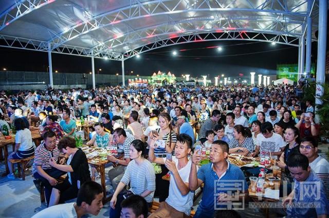 渭南第五届青岛啤酒节圆满落幕 欢乐与激情共享 文化与经济共荣