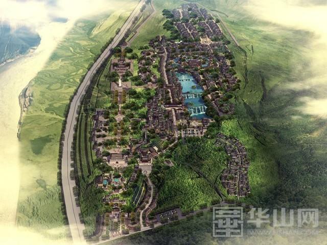 """潼关:加快工作进度确保古城东山景区""""五一""""顺利开园"""