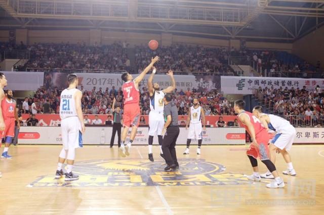 2017NBL半决赛:陕西信达3比0大胜湖南队晋级决赛
