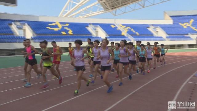 市体校中长跑队:战高温 斗酷暑 全力奔向省运会最高领奖台