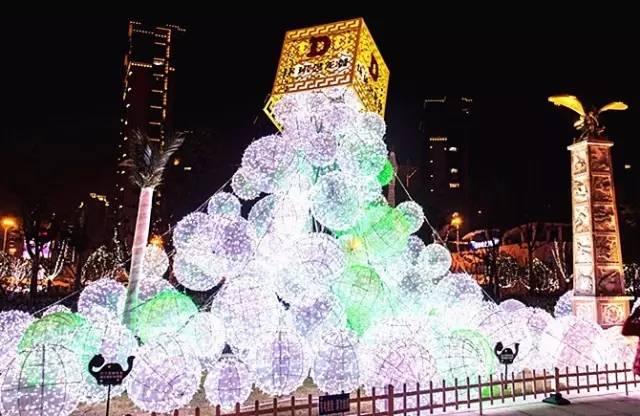 2018中国渭南国际梦幻灯光艺术节,10月1日