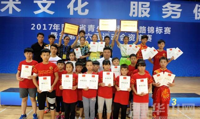 2017陕西省青少年武术套路锦标赛落幕 渭南市代表团斩获8枚金牌