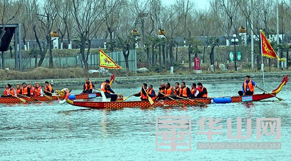大荔:春节同州湖上体验