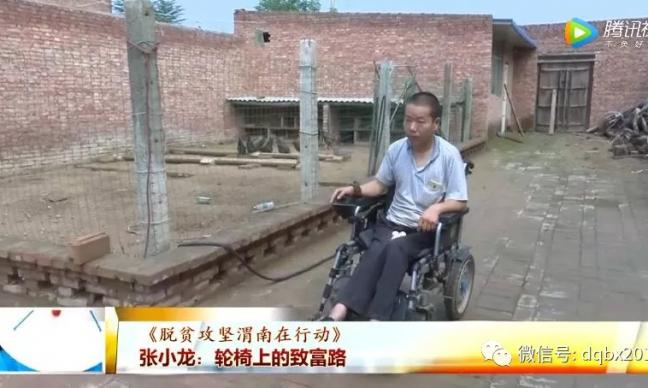 《脱贫攻坚渭南在行动》张小龙:轮椅上的致富路