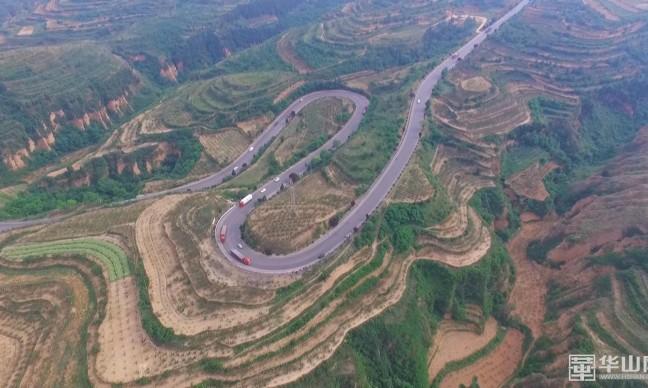 """《瞰渭南》""""美丽干线公路""""成为渭南市靓丽的风景线"""