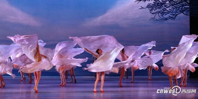 舞剧《朱鹮》渭南震撼上演 唯美舞姿惊艳全场