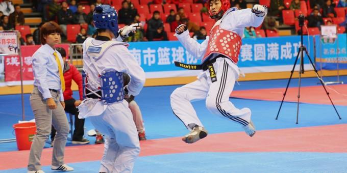 2016年全国跆拳道精英赛渭南火热进行中