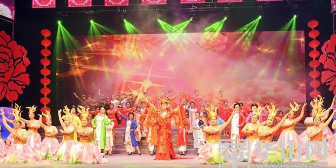 2018渭南市群众春节联欢晚会精彩纷呈