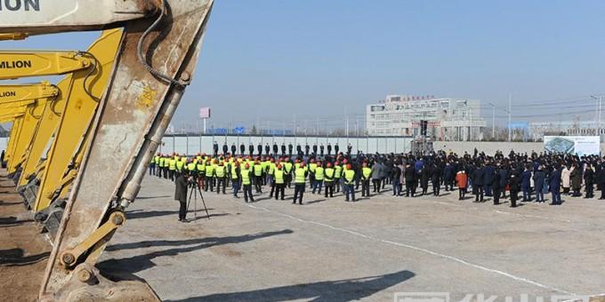 渭南:2018年首次集中开工项目118个总投资470亿元