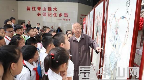 非物质文化遗产—秦腔脸谱在渭南市文化艺术中心展出