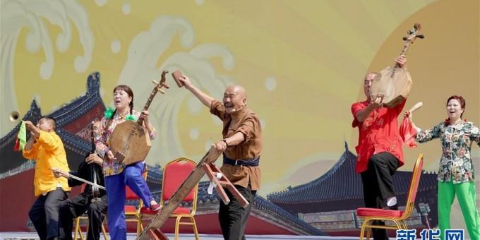 渭南元素亮相老行当文化艺术节