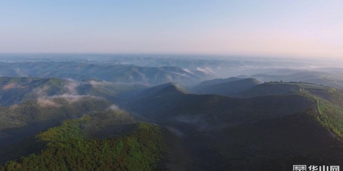 《瞰渭南》白水:雨后雁门山现云海奇观