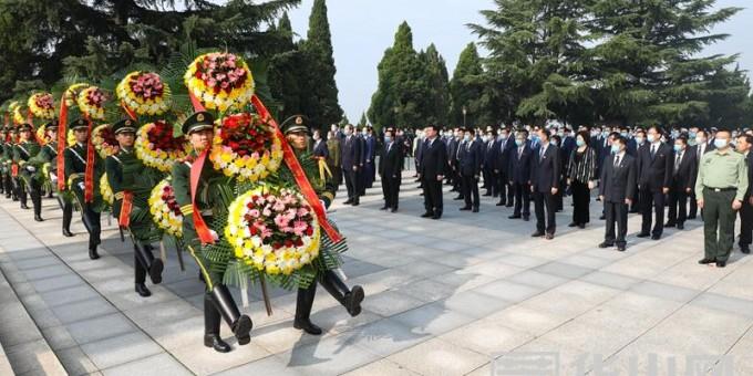渭南市举行烈士纪念日公祭活动 魏建锋出席 王琳主持