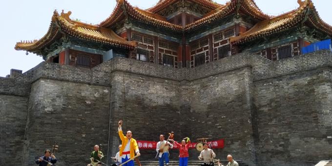"""""""五·一""""期间  西岳庙景区文化活动异彩纷呈"""