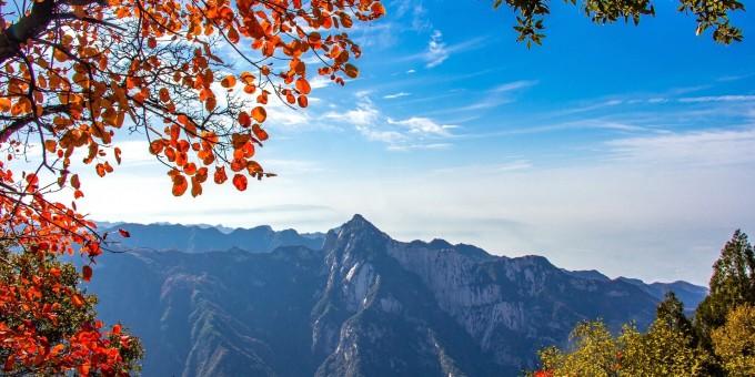 【视觉陕西】你与童话里的秋天只隔了一座少华山
