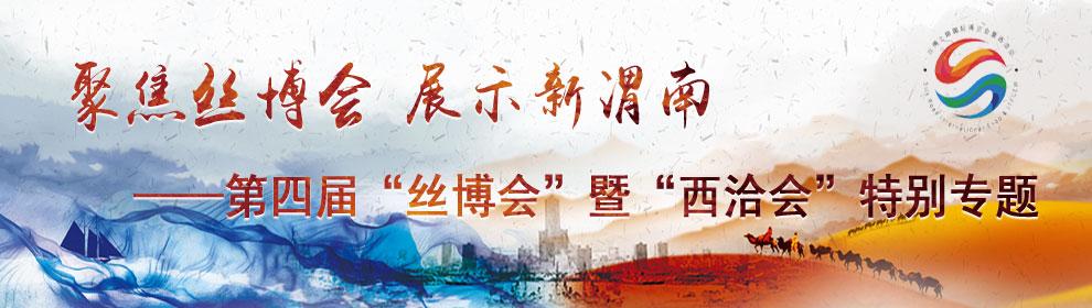 聚焦丝博会展示新渭南
