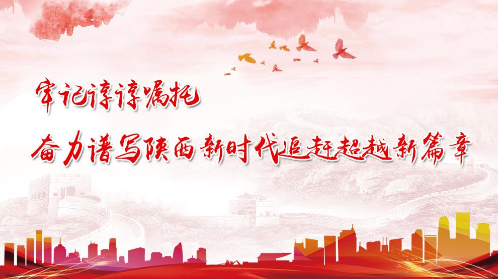 牢记谆谆嘱托奋力谱写陕西新时代追赶超越新篇章