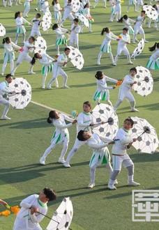 陕西省青少年校外教育成果展示活动在渭南成功举办