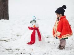 渭南迎来2017年第一场雪
