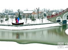 雪后的大荔银装素裹 美景如诗如画