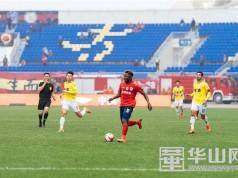 中甲第七轮: 陕西大秦之水队战上海申鑫队精彩瞬间