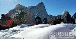 雪后华山 美景如画