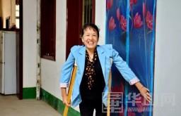 曹玲玲:她用双拐撑起了一个家
