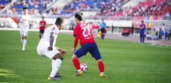 中甲第九輪:陜西大秦之水主場0:1惜敗梅州客家