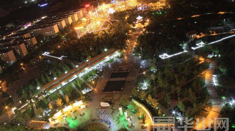 渭南中心城市的美丽嬗变