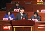 政协渭南市五届二次会议举行大会发言