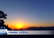 《瞰渭南》云海映秦岭 生态美华山