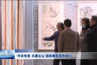 """""""华岳有道·水墨云山""""国画展在渭南市举行"""