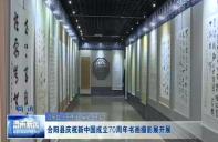 合阳县庆祝新中国成立70周年书画摄影展开展