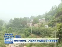 韩城市楼枝村:产业扶持 移民搬迁 斩穷根变新貌