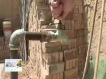 白水:雷牙镇北井头村二十多天停水  四百多户村民用水难