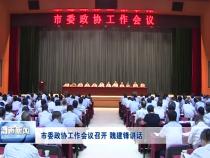 渭南市委政协工作会议召开 魏建锋讲话