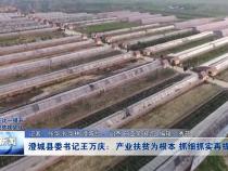 澄城县委书记王万庆:产业扶贫为根本  抓细抓实再提升