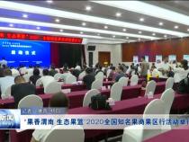 """""""果香渭南 生态果篮""""2020全国知名果商果区行活动举行"""
