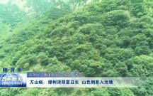 方山峪:绿树浓阴夏日长  山色倒影入池塘